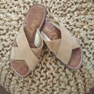 Sam Edelman cross slides
